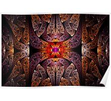 Fractal - Aztec - The Aztecs Poster