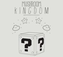 Welcome to the Mushroom Kingdom [Black] by BluescreenQueen