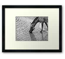 A Cool Drink Framed Print