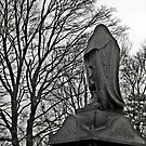 Hooded Figure in Mourning by Jane Neill-Hancock