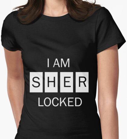 I am Sherlocked Shirt Womens Fitted T-Shirt