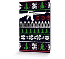 LIKE THE M16 CHRISTMAS Greeting Card