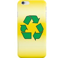 Iphone Case - Recycle - Yellow iPhone Case/Skin