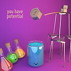 You Have (Gravitational) Potential - Cute Chemistry by chayground