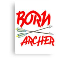 BORN ARCHERS Canvas Print