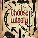 Geek weapons - Choose wisely! by Gumley
