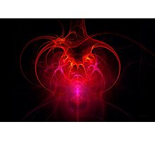 Fractal - Science - The neural network Photographic Print