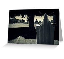 The Past Is A Mystery, The Future Unknown Greeting Card