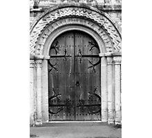 door number 2 Photographic Print