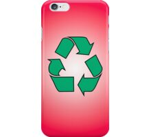 Iphone Case - Recycle - Red iPhone Case/Skin