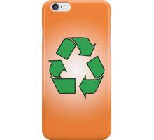 Iphone case - Recycle - Orange iPhone Case/Skin