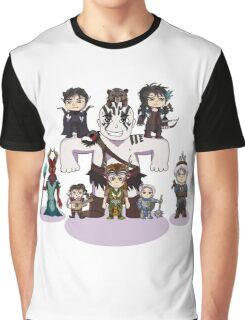 Little Vox Machina Graphic T-Shirt