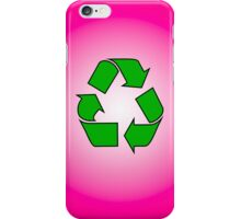 Iphone case - Recycle - Pink iPhone Case/Skin