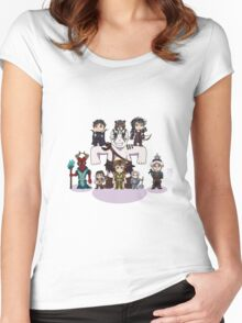 Little Vox Machina Women's Fitted Scoop T-Shirt