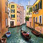 Venice Scene by WILT