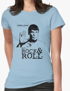 Rock Spock Womens Fitted T-Shirt
