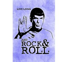 Rock Spock Photographic Print