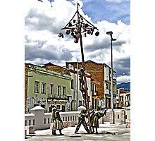 Greased Pole Fun Photographic Print