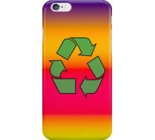 Iphone Case - Recycle - Rainbow 1 iPhone Case/Skin