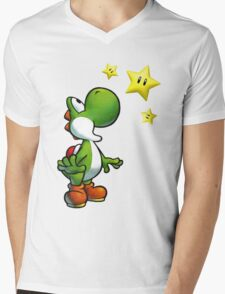 Yoshi Mens V-Neck T-Shirt