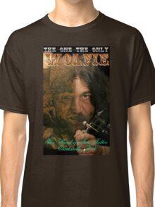Wolfie Poster Classic T-Shirt