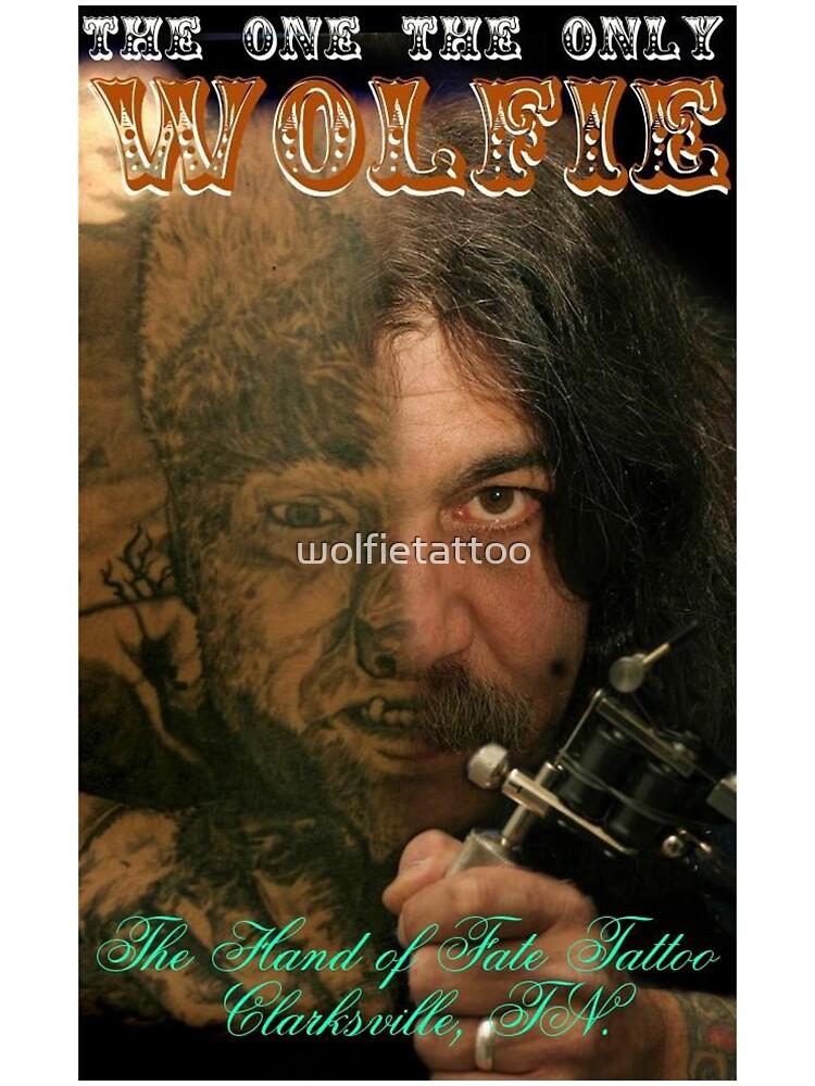 Wolfie Poster by wolfietattoo