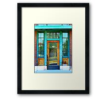 Old Forgotten Store Front In Caldwell, Idaho Framed Print