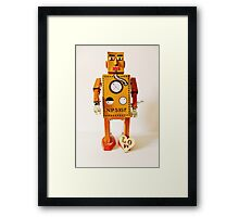 Robo Just Wants To Be Loved. Framed Print