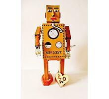 Robo Just Wants To Be Loved. Photographic Print