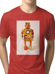 Robo Just Wants To Be Loved. Tri-blend T-Shirt