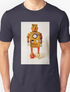 Robo Just Wants To Be Loved. Unisex T-Shirt