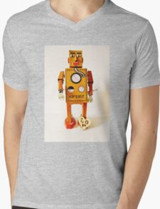 Robo Just Wants To Be Loved. Mens V-Neck T-Shirt