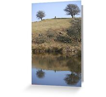 Reflect your soul Greeting Card