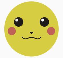 Pikachu Full Face (Sticker) by P-ZERO