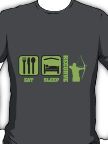 EAT SLEEP RECURVE T-Shirt