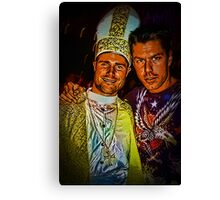 Papal Conclave Dance Party Canvas Print