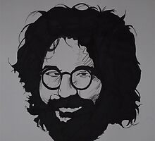 Jerry Garcia by Ant-Acid