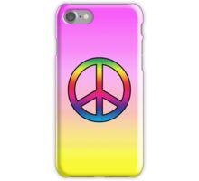 Smartphone Case - Peace Sign - Ultra Violet iPhone Case/Skin
