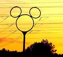 Disney Sunset by Diane Trummer Sullivan