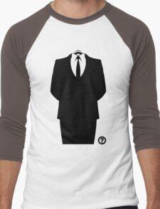 Anon Suit Men's Baseball ¾ T-Shirt