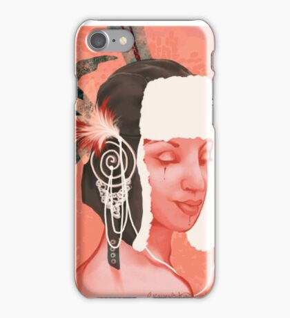 Fancy Feathers iPhone Case/Skin
