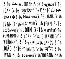 John 3:16 Photographic Print