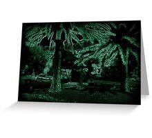 Neon Tree Greeting Card