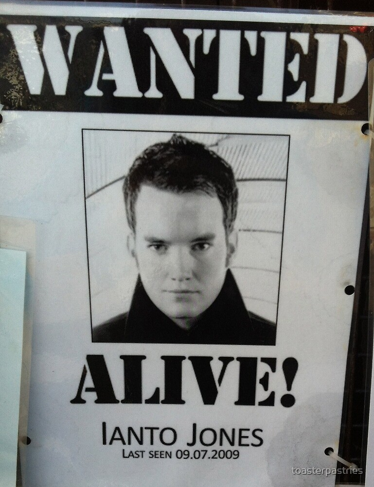 Wanted Alive Ianto Jones  by toasterpastries