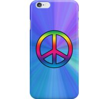 Smartphone Case - Peace Sign - The Blues iPhone Case/Skin