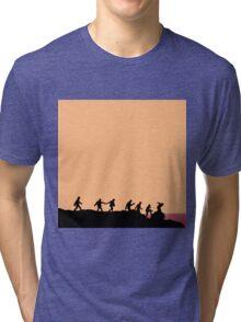BTS - RUN Tri-blend T-Shirt