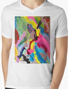 Electric Circus Mens V-Neck T-Shirt