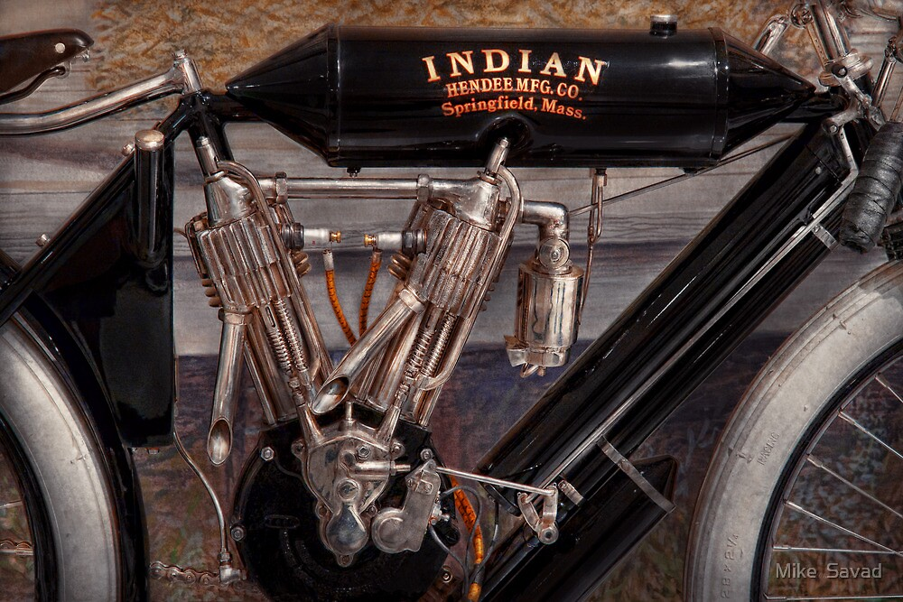 Motorcycle - An oldie but a goodie  by Mike  Savad