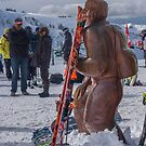 Downhill Skier by Yukondick