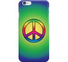 Smartphone Case - Peace Sign - Fade to blue iPhone Case/Skin